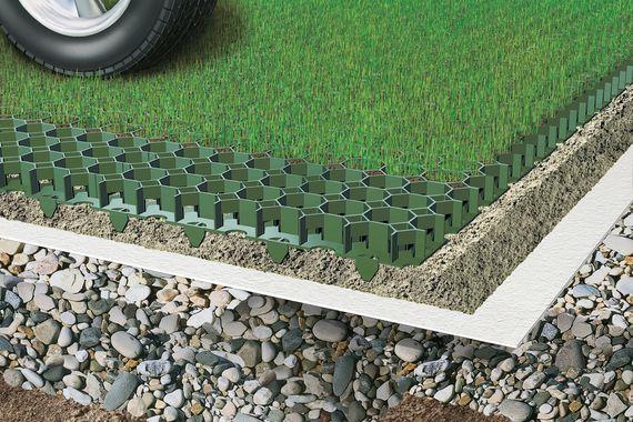 Fabulous Rasengitter verlegen in 4 Schritten zu grünem Rasen - RatGeberZentrale SG88