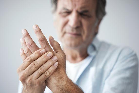 thrombose handfläche