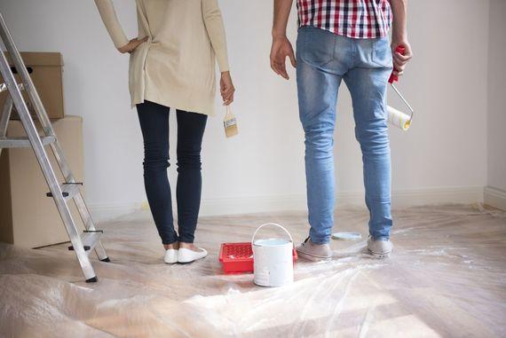 Vor Dem Verputzen Oder Streichen Sind Ein Paar Wichtige Vorbereitunge Zu  Treffen. Hier Kann Eine Checkliste Helfen. Foto: Djd/thx