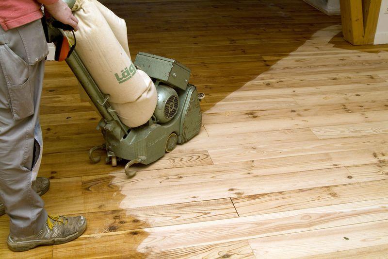 Dielenboden Aufarbeiten In 9 Schritten Alte Holzboden Auffrischen