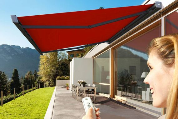 Großartig Terrasse gestalten mit einer Markise: Die besten 5 Tipps  CH34