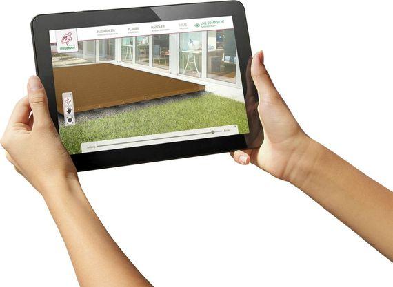 Terrasse Bauen: Erst Virtuell - Und Dann Im Garten - Ratgeberzentrale Terrasse Anlegen Schritte Planung