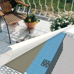 3 tipps f r den schutz mit drainage auf balkon und terrasse ratgeberzentrale. Black Bedroom Furniture Sets. Home Design Ideas