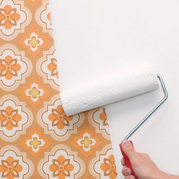 Tapeten Aller Art Für Den Heimwerker Und Seine Renovierung Alter Wände.  Foto: Djd/Knauf Bauprodukte