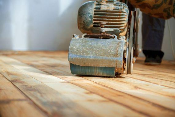 Holzdielen Abschleifen 3 Schritte Um Das Parkett Zu Renovieren