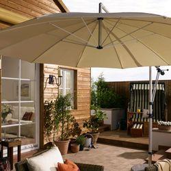 sonnenschirm auf der terrasse 6 tipps f r schatten nach ma ratgeberzentrale. Black Bedroom Furniture Sets. Home Design Ideas
